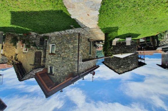 Außen Winter 2, Rustico Marcello, Gravedona, Comer See, Lombardei, Italien