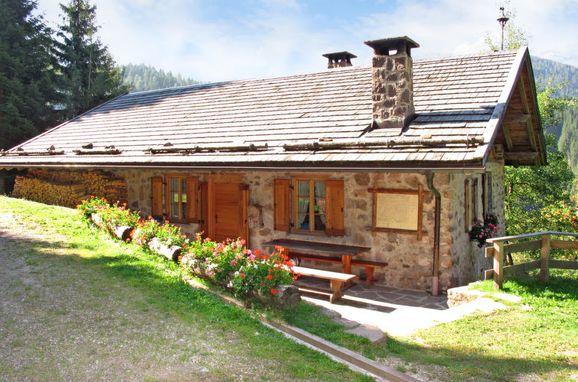 Außen Sommer 1 - Hauptbild, Chalet Baita El Deroch, Predazzo, Fleimstal, Trentino-Südtirol, Italien