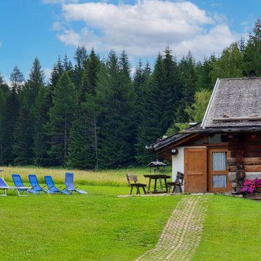 Außen Sommer 2, Chalet Tabia, Predazzo, Fleimstal, Trentino-Südtirol, Italien