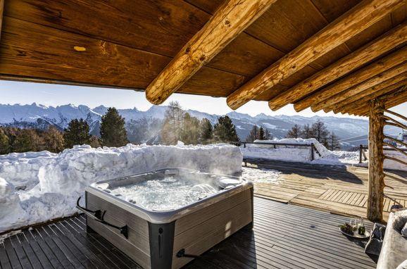 Außen Sommer 1 - Hauptbild, Chalet Lusia, Moena, Dolomiten, Trentino-Südtirol, Italien
