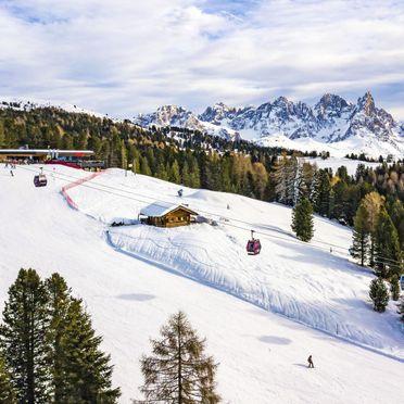 Außen Winter 30, Chalet Lusia, Moena, Fassa Valley, Trentino-Südtirol, Italien