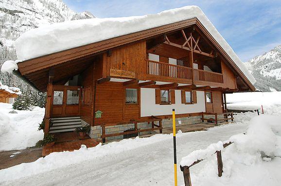 Außen Winter 36 - Hauptbild, Chalet Cesa Galaldriel, Canazei, Fassa Valley, Trentino-Südtirol, Italien