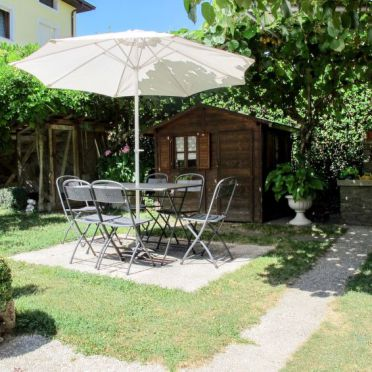 Außen Sommer 2, Ferienhaus Gremes, Lago di Caldonazzo, Trentino-Südtirol, Trentino-Südtirol, Italien