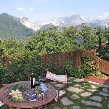 Außen Sommer 2, Ferienhaus Mare e Monti, San Carlo Terme, Versilia, Lunigiana und Umgebung, Toskana, Italien