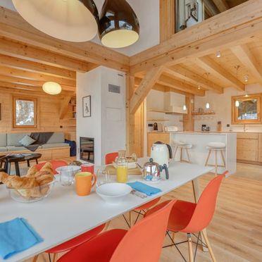 Innen Sommer 2, Chalet Penguin Hill, Saint Gervais, Savoyen - Hochsavoyen, Auvergne-Rhône-Alpes, Frankreich