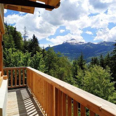 Außen Sommer 3, Chalet Penguin Hill, Saint Gervais, Savoyen - Hochsavoyen, Auvergne-Rhône-Alpes, Frankreich