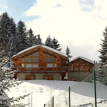 Außen Winter 32, Chalet l'Epachat, Saint Gervais, Savoyen - Hochsavoyen, Auvergne-Rhône-Alpes, Frankreich