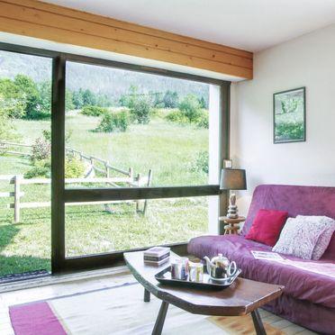 Innen Sommer 2, Chalet les Pelarnys, Chamonix, Savoyen - Hochsavoyen, Auvergne-Rhône-Alpes, Frankreich
