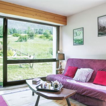 Innen Sommer 2, Chalet les Pelarnys, Chamonix, Savoyen - Hochsavoyen, Rhône-Alpes, Frankreich