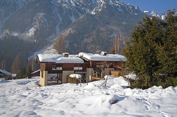 Outside Winter 18, Chalet les Pelarnys, Chamonix, Savoyen - Hochsavoyen, Auvergne-Rhône-Alpes, France