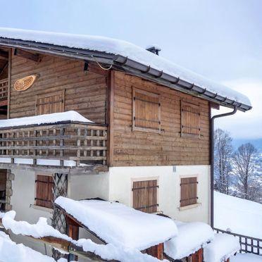Außen Winter 19, Chalet Mille Bulle, Saint Gervais, Savoyen - Hochsavoyen, Auvergne-Rhône-Alpes, Frankreich