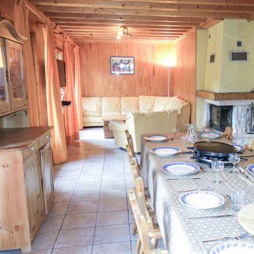 Innen Sommer 3, Chalet Mendiaux, Saint Gervais, Savoyen - Hochsavoyen, Auvergne-Rhône-Alpes, Frankreich