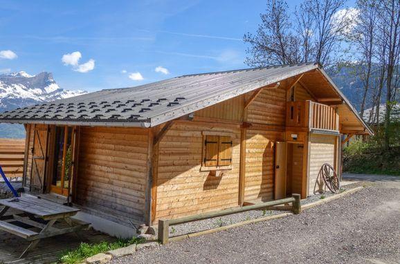 Außen Sommer 1 - Hauptbild, Chalet cosy 2, Saint Gervais, Savoyen - Hochsavoyen, Auvergne-Rhône-Alpes, Frankreich