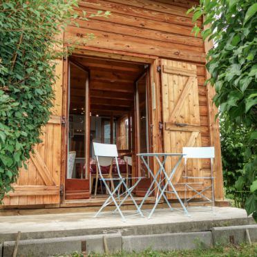 Außen Sommer 1 - Hauptbild, Chalet Farfadets, Saint Gervais, Savoyen - Hochsavoyen, Auvergne-Rhône-Alpes, Frankreich