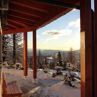 Außen Winter 17, Chalet Sonnkegel, Sirnitz - Hochrindl, Kärnten, Kärnten, Österreich