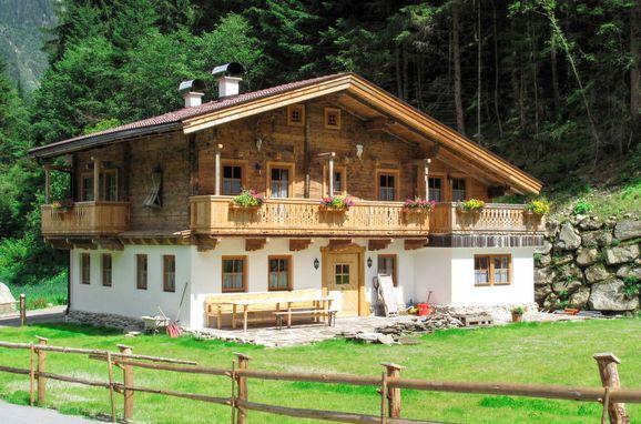 Außen Sommer 1 - Hauptbild, Chalet Gais, Mayrhofen, Zillertal, Tirol, Österreich