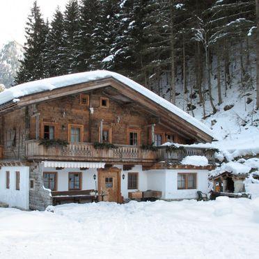 Außen Winter 23, Chalet Gais, Mayrhofen, Zillertal, Tirol, Österreich