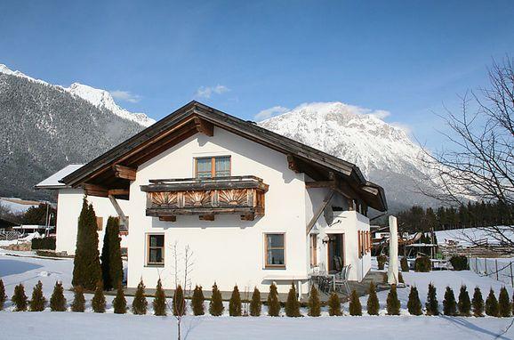 Außen Winter 21 - Hauptbild, Chalet Gerhard, Mieming, Tirol, Tirol, Österreich