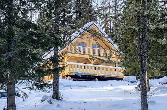 Außen Winter 20 - Hauptbild, Chalet Tom, Sirnitz - Hochrindl, Hochrindl-Alpl, Kärnten, Österreich