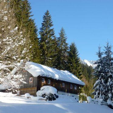 Außen Winter 22, Ferienchalet Plaik, Sankt Martin am Tennengebirge, Pinzgau, Salzburg, Österreich
