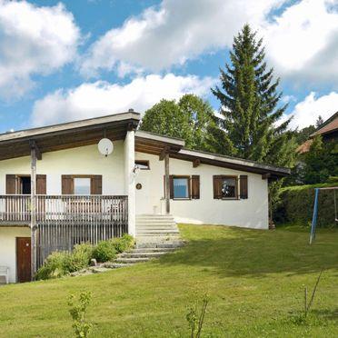 Außen Sommer 1 - Hauptbild, Ferienchalet am Goldenen Steig, Mauth, Bayerischer Wald, Bayern, Deutschland