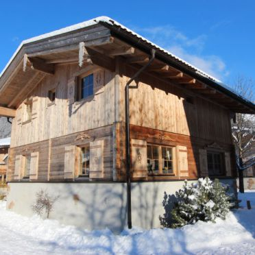 Außen Winter 42, Chalet Alpendorf, Kaltenbach, Stumm, Tirol, Österreich
