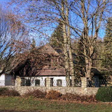 Außen Winter 39, Landhaus Aigen am Wolfgangsee, Strobl, Salzkammergut, Salzburg, Österreich