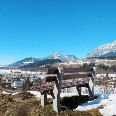 Innen Winter 22, Fischerhütte an der Enns, Stein an der Enns, Steiermark, Steiermark, Österreich