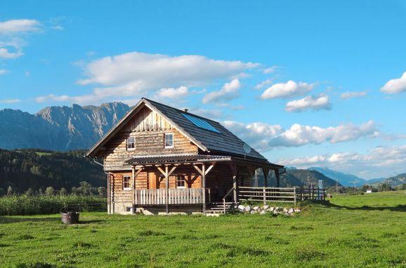 Außen Sommer 1 - Hauptbild, Blockhütte Steiner, Stein an der Enns, Sölk, Steiermark, Österreich