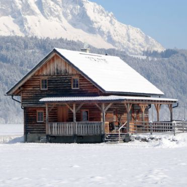 Outside Winter 17, Blockhütte Steiner, Stein an der Enns, Steiermark, Styria , Austria