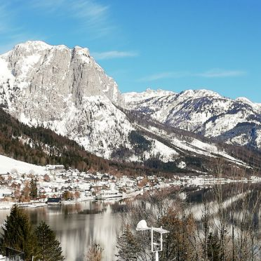 Außen Winter 20, Chalet Steirer am Grundlsee, Grundlsee, Salzkammergut, Salzburg, Österreich