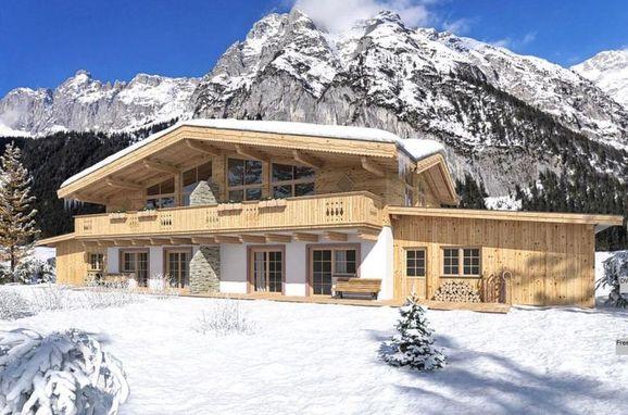 Außen Winter 23 - Hauptbild, Chalet Leßner, Leutasch, Tirol, Tirol, Österreich