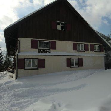Außen Winter 23, Ferienhaus St. Eustachius, Leutkirch, Allgäu, Bayern, Deutschland