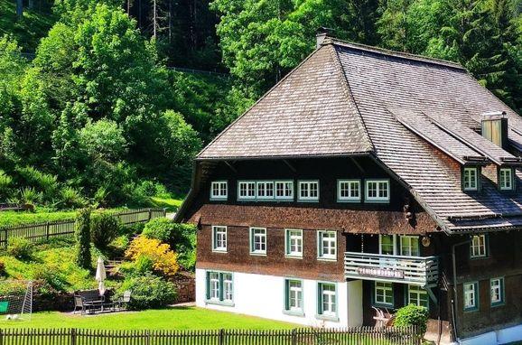 Außen Sommer 1 - Hauptbild, Schwarwaldhaus Sägemühle, Furtwangen, Schwarzwald, Baden-Württemberg, Deutschland