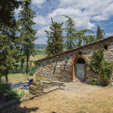 Außen Sommer 2, Villa le Bonatte, Radda in Chianti, Toskana Chianti, Toskana, Italien