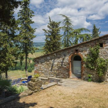 Outside Summer 2, Villa le Bonatte, Radda in Chianti, Toskana Chianti, Tuscany, Italy