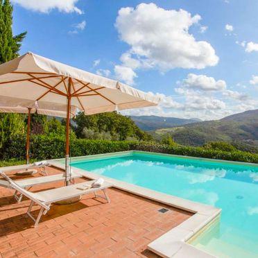 Außen Sommer 2, Villa Lustignano, Monterotondo Marittimo, Maremma, Toskana, Italien