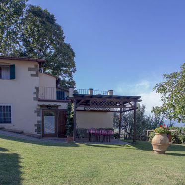 Außen Sommer 2, Appartamento Podere Berrettino, Reggello, Florenz und Umgebung, Toskana, Italien
