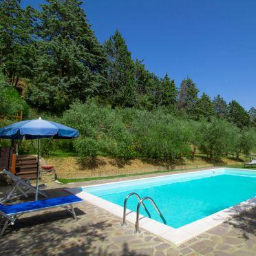Außen Sommer 3, Villa il Riccio, Cortona, Arezzo, Cortona und Umgebung, Toskana, Italien