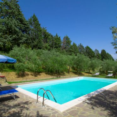 Outside Summer 3, Villa il Riccio, Cortona, Arezzo, Cortona und Umgebung, Tuscany, Italy