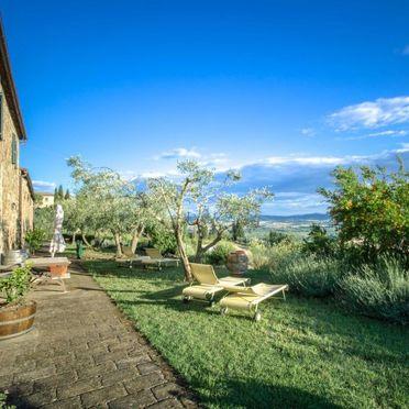 Außen Sommer 2, Villa bel Giardino, Paganico, Maremma, Toskana, Italien