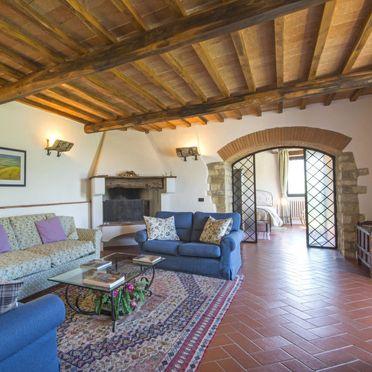 Innen Sommer 4, Villa Cafaggio di Sopra, Florenz, Florenz Stadt und Umgebung, Toskana, Italien