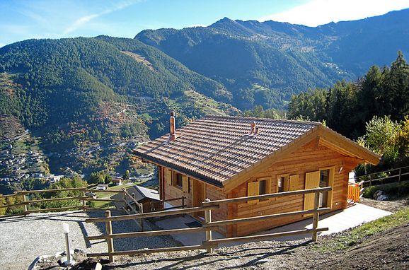 Außen Sommer 1 - Hauptbild, Chalet Petite-Arvine  in La Tzoumaz, La Tzoumaz, Wallis, Wallis, Schweiz