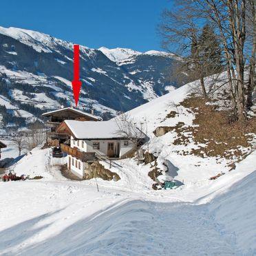 Außen Winter 21, Hütte Jörgener, Mayrhofen, Zillertal, Tirol, Österreich