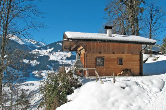 Außen Winter 14 - Hauptbild, Jagdhütte Eberharter, Mayrhofen, Zillertal, Tirol, Österreich