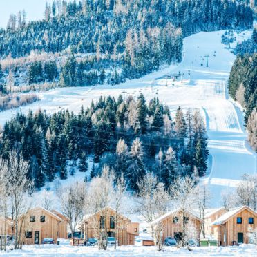Außen Winter 26, Bergchalet Wellness, Sankt Georgen am Kreischberg, Murtal-Kreischberg, Steiermark, Österreich