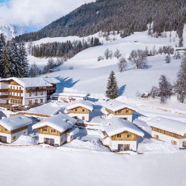 Außen Winter 29, Chalet Eulersberg, Werfenweng, Pongau, Salzburg, Österreich
