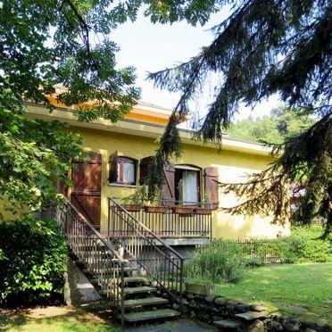 Außen Sommer 2, Residenz Rosa, Porto Valtravaglia, Lago Maggiore, Lombardei, Italien