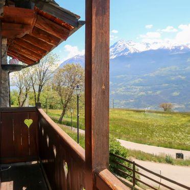 Außen Sommer 3, Maison Meynet, Sarre, Aostatal, Aostatal, Italien