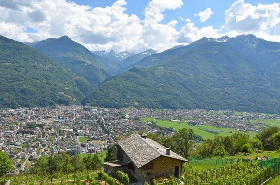 Außen Sommer 1 - Hauptbild, Rustico Rebustella, Valtellina, Lombardei, Lombardei, Italien
